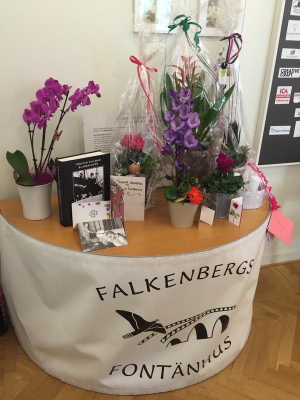 FALKENBERGS FONTÄNHUS VILL TACKA!