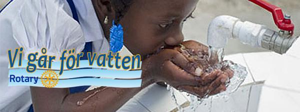Gå för vatten Lördagen den 7 maj kl 12:00
