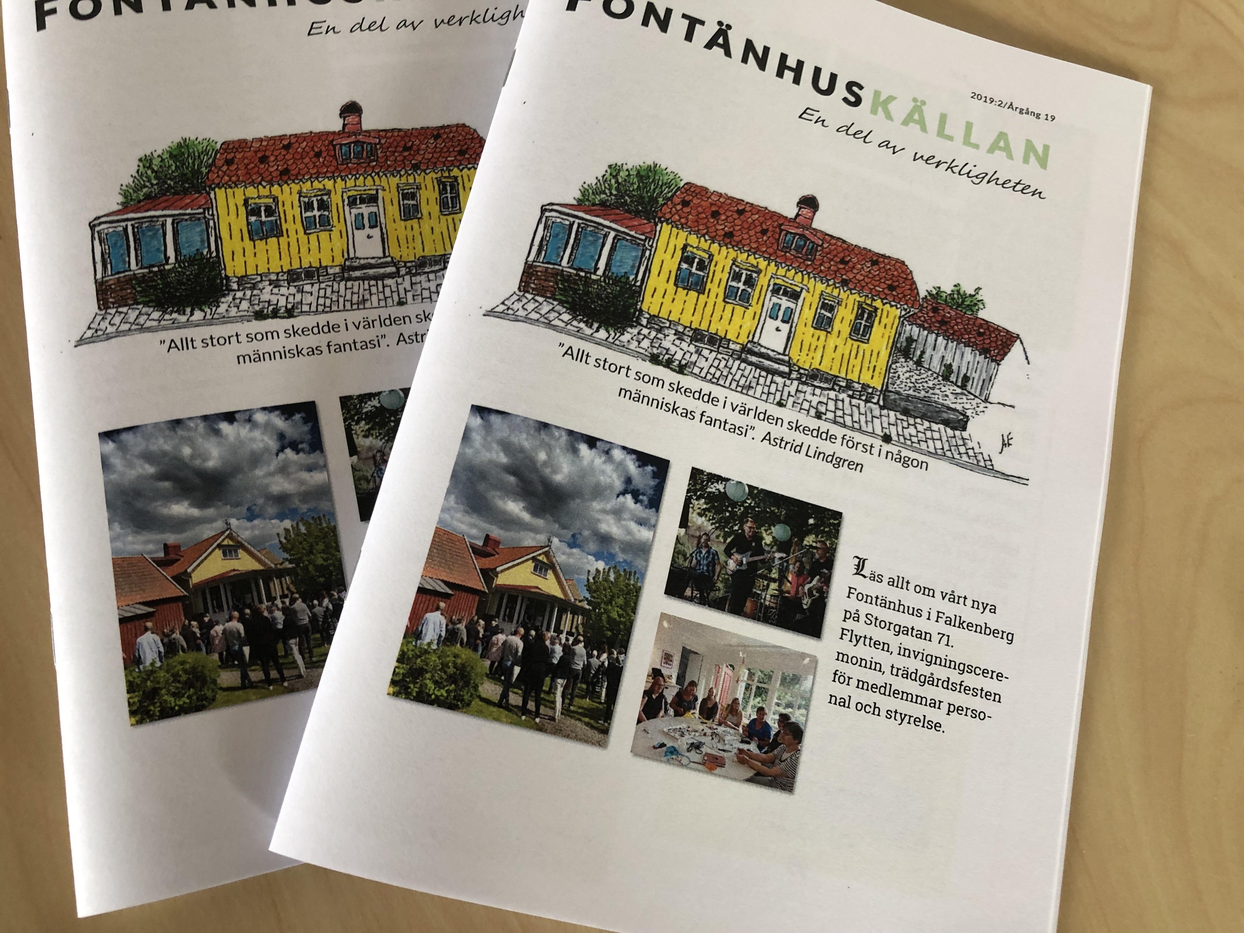 Fontänhuskällan – Första numret på nya huset