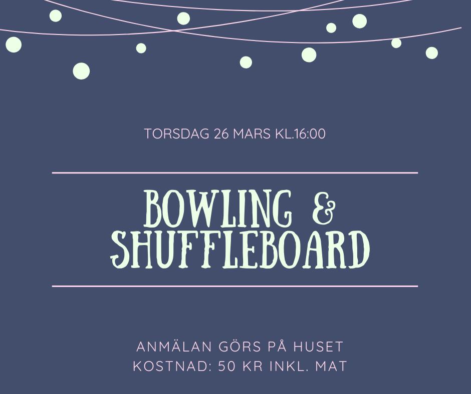 Häng med på bowling!