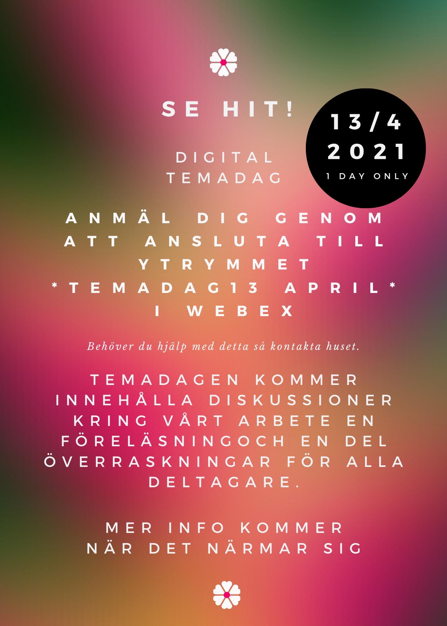 Digital Temadag 13/4